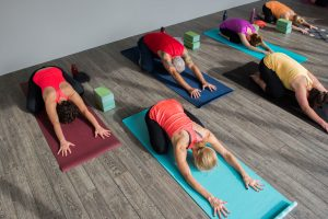 Yoga studio nearby - The Row Townhomes, Townhomes for Rent between Factoria and Bellevue, Washington 98006